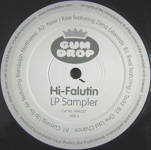 "Gum Drop - Hi-Falutin LP Sampler (12"", Smplr) (VG) - natural selection vinyl records"