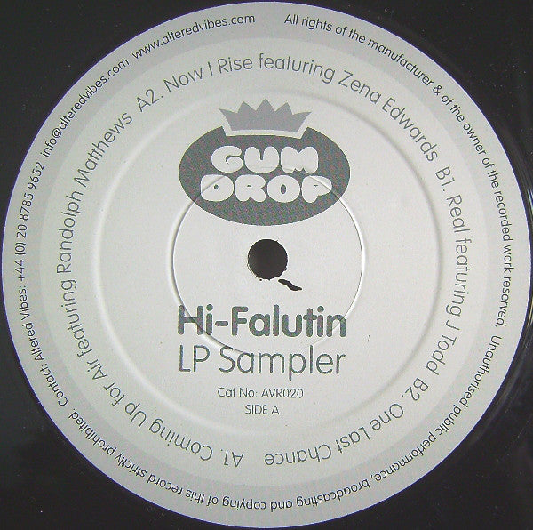 Gum Drop - Hi-Falutin LP Sampler (12