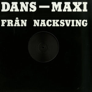 "Matt Karmil - Dans-Maxi Från Nacksving (12"") (VG+) - natural selection vinyl records"