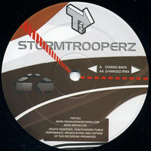 "Load image into Gallery viewer, Stormtrooperz - Coming Back (12"") (VG) - natural selection vinyl records"