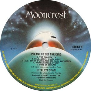 Steeleye Span - Please To See The King (LP, Album, RE) (VG+) - natural selection vinyl records