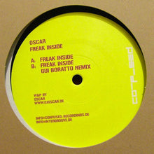 "Load image into Gallery viewer, Oscar (4) - Freak Inside (12"") (VG+) - natural selection vinyl records"