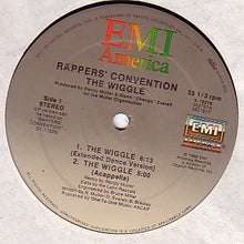 "Load image into Gallery viewer, Rappers' Convention - The Wiggle (12"") (VG+) - natural selection vinyl records"