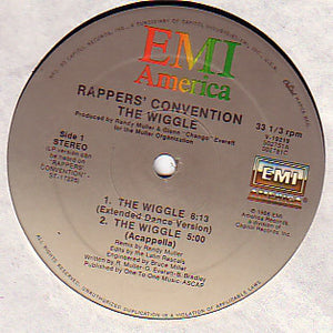 "Rappers' Convention - The Wiggle (12"") (VG+) - natural selection vinyl records"