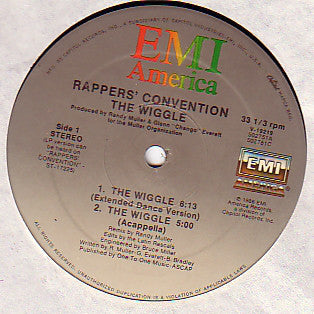 Rappers' Convention - The Wiggle (12