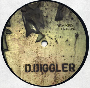 "D.Diggler - Remixed Part One (12"") (VG+) - natural selection vinyl records"