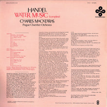 Load image into Gallery viewer, Handel* / Prague Chamber Orchestra / Charles Mackerras* - Water Music (Complete) (LP, Album, Quad) (VG+) - natural selection vinyl records