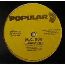 "M.C. Bug - Jamaican Funk (12"") (VG+) - natural selection vinyl records"