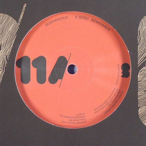 "Bushwacka! - Remember (12"") (VG+) - natural selection vinyl records"
