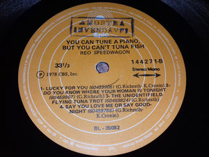 REO Speedwagon - You Can Tune A Piano, But You Can't Tuna Fish (LP, Album) (VG) - natural selection vinyl records