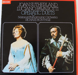 Joan Sutherland, Luciano Pavarotti, National Philharmonic Orchestra, Richard Bonynge - Operatic Duets (LP, Album) (VG+) - natural selection vinyl records