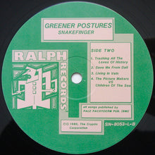 Load image into Gallery viewer, Snakefinger - Greener Postures (LP, Album) (VG+) - natural selection vinyl records