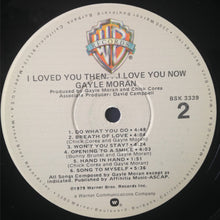 Load image into Gallery viewer, Gayle Moran - I Loved You Then...I Love You Now (LP, Album) (G) - natural selection vinyl records