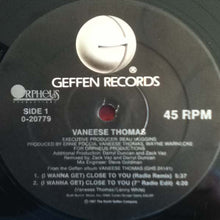 "Load image into Gallery viewer, Vaneese Thomas - I Wanna Get Close To You (12"", Maxi) (NM or M-) - natural selection vinyl records"