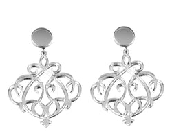 EARRINGS OPTICAL MIRROR