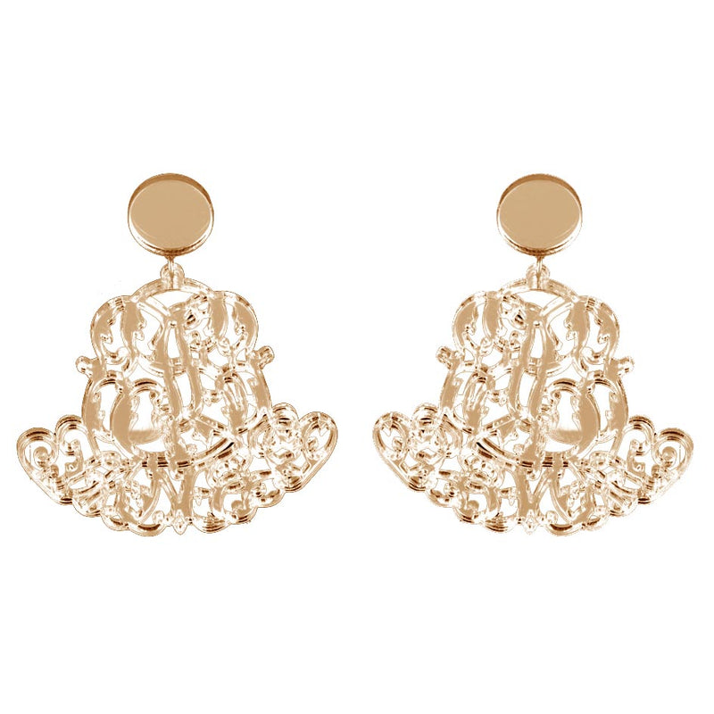EARRINGS ROYAL MIRROR FUME'