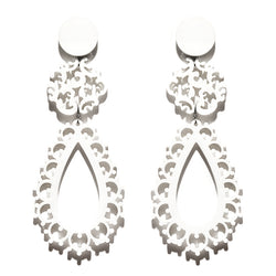 EARRINGS BIZANTINI WHITE