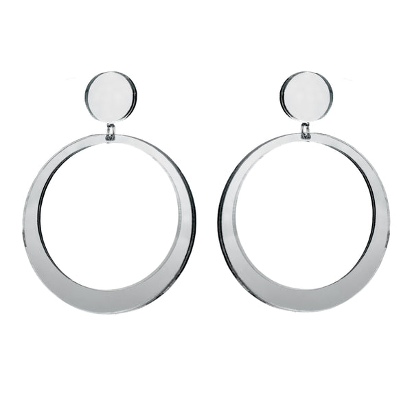 EARRINGS MAXI HOPES MIRROR