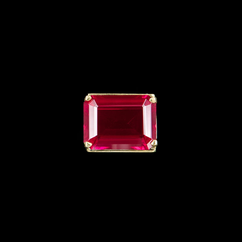 RING SOLITARIE RUBY