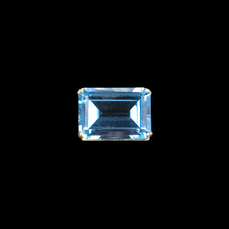 RING SOLITARIE AQUAMARINE