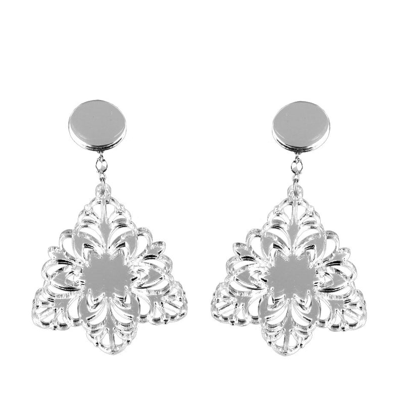 EARRINGS FIOCCO DI NEVE MIRROR