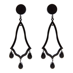 EARRINGS GOTICI BLACK