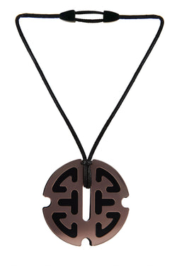 NECKLACE LONGEVITY PLEXI BRONZE