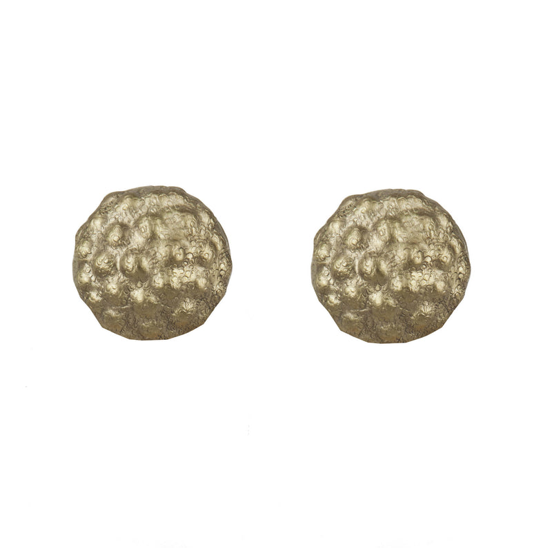 EARRINGS MOROSITAS MINI WHITE BRONZE