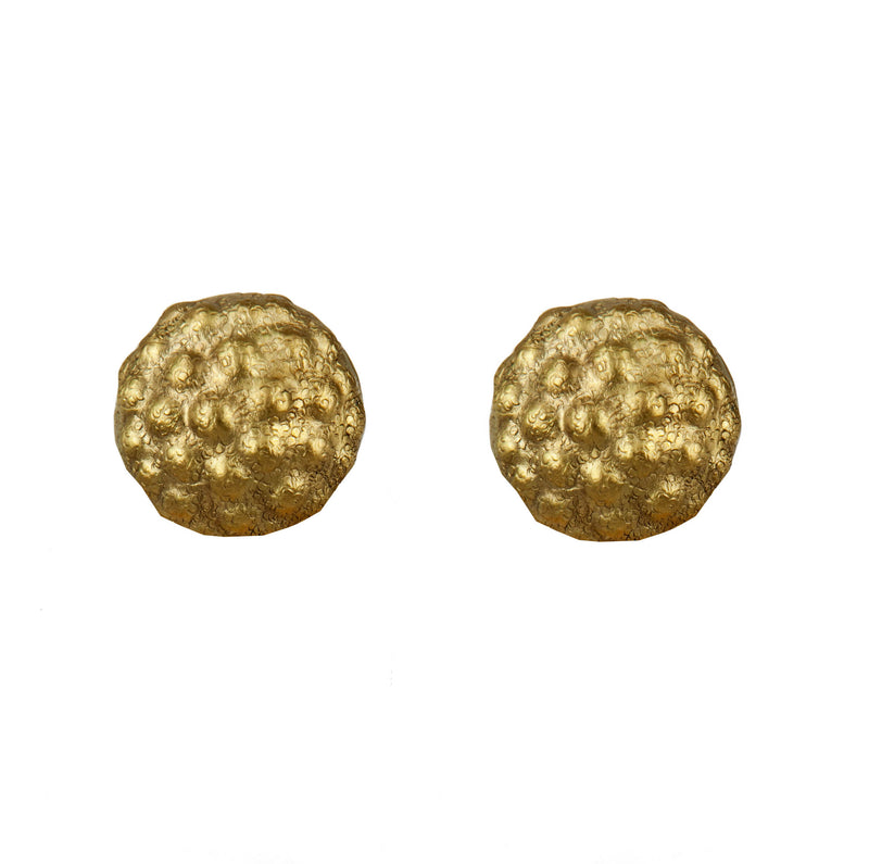 EARRINGS MOROSITAS MINI GOLD BRONZE