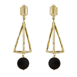 EARRINGS DIN DON VELVET