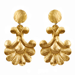 EARRINGS SANTIAGO GOLD BRONZE