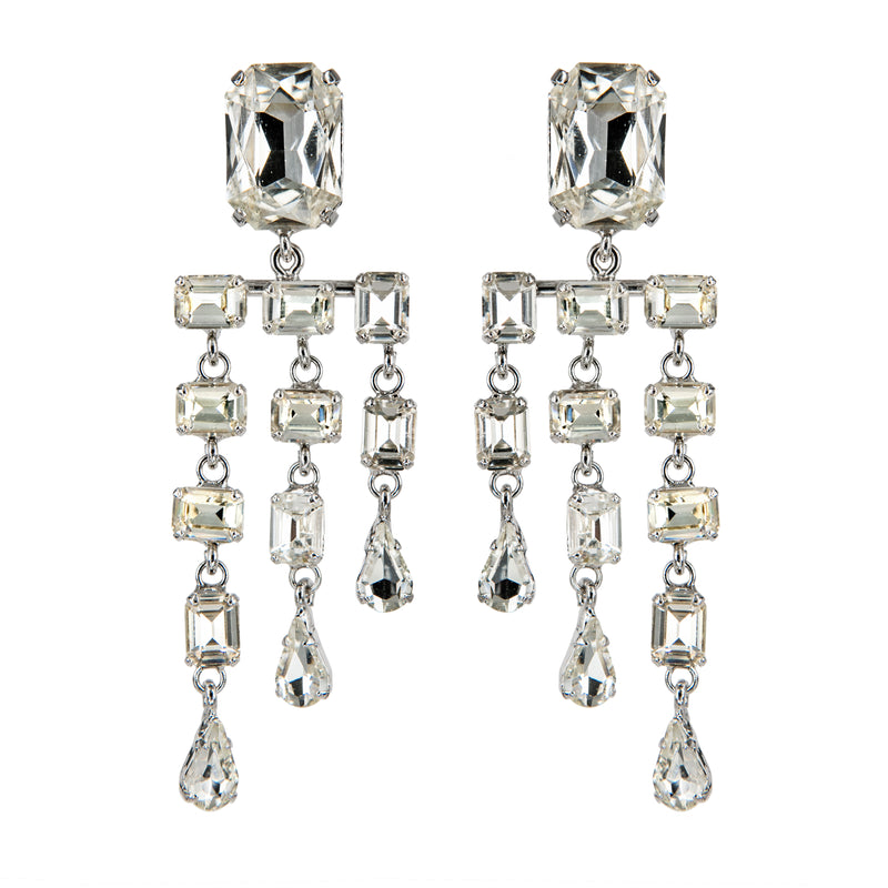 EARRINGS RAIN CRYSTAL