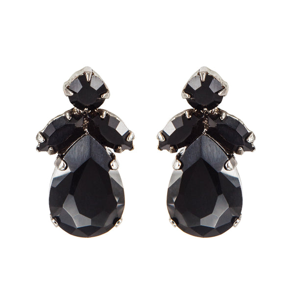 EARRING MINI AUDREY BLACK