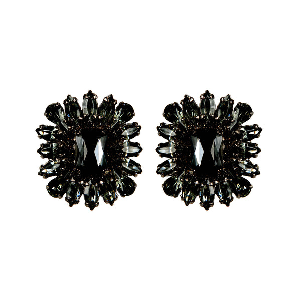 EARRINGS ROGER BLACK