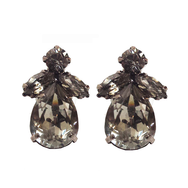 EARRING MINI AUDREY GREY