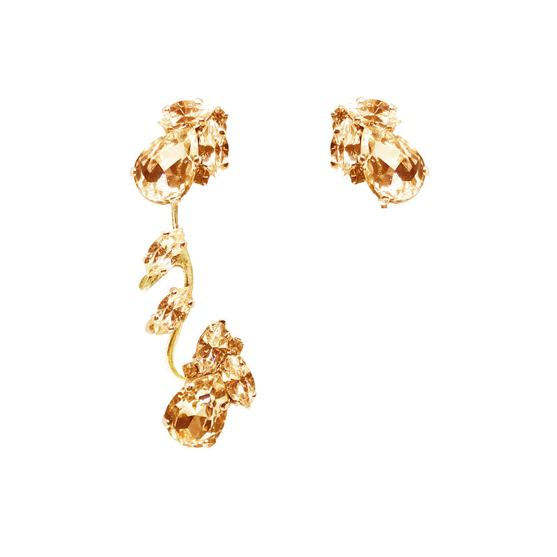 EARRING ROMANTIC TOPAZ