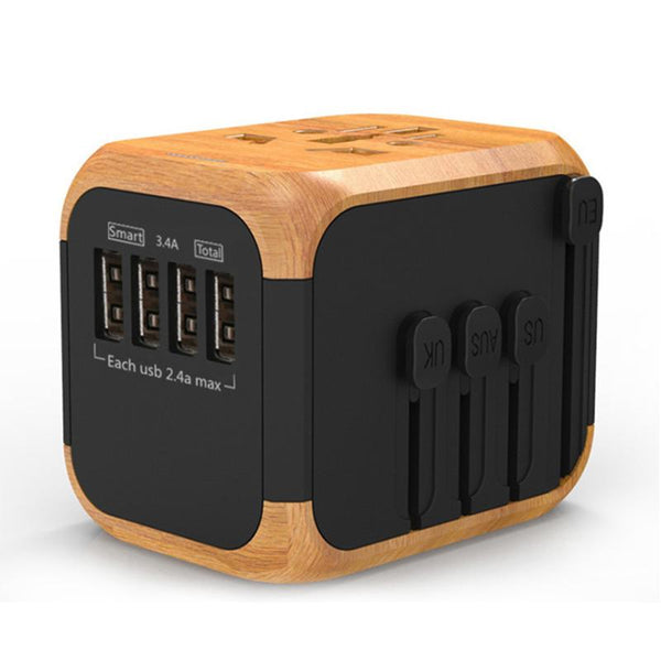 Universal USB Travel Power Adapter
