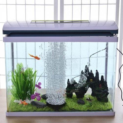 🔥 ON SALE 🔥 7-color Slow Flash Bubble Aquarium Light