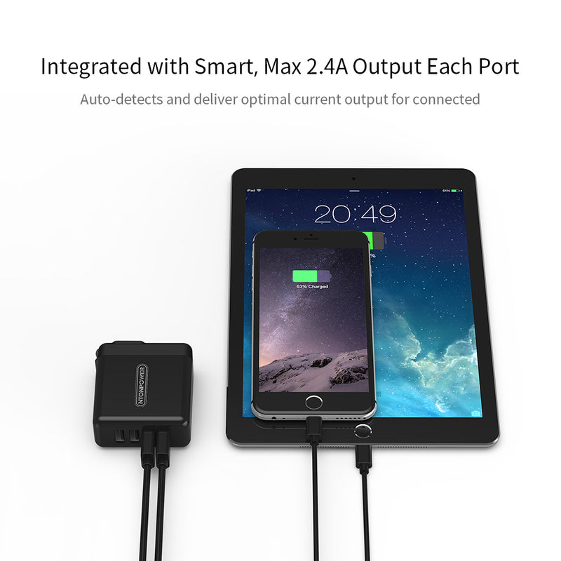USB Charger fast smart portable travel one fits all