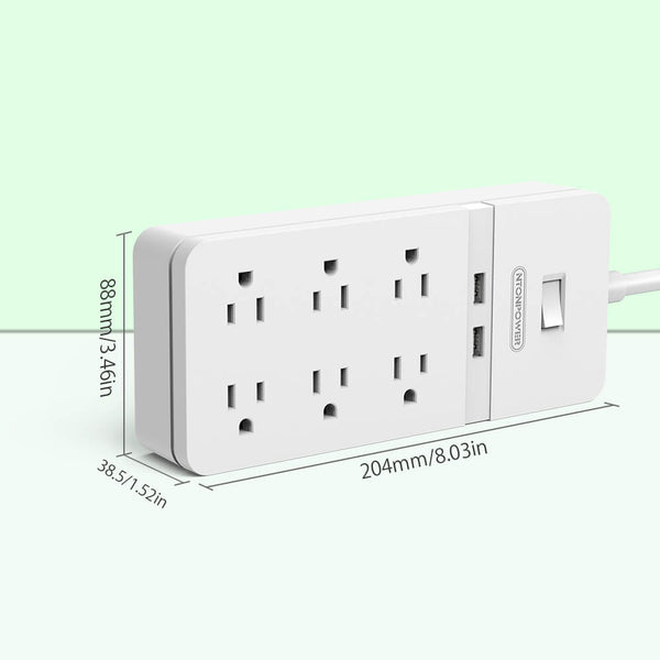 Power Strip Surge Protector Heavy Duty [US/CA]