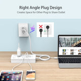 4/6/8/10 outlet 2 USB Power Strip Surge Protector