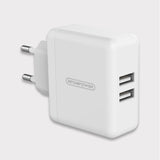 Mobile Phone Charger 5V 3A for iPhone X 8 7 6 iPad Dual USB Wall Charger EU Plug