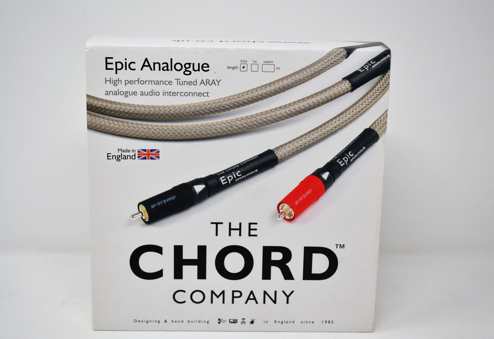 Chord Epic Analogue Tuned ARAY interconnect (0.5m)