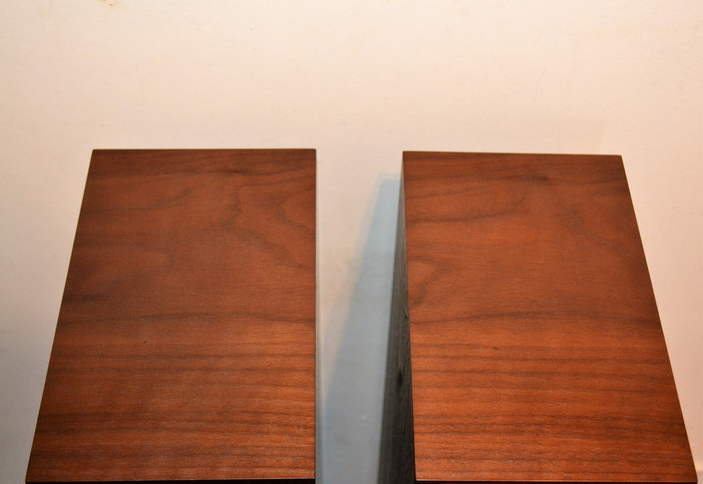 Spendor A4 loudspeakers in Dark Walnut finish