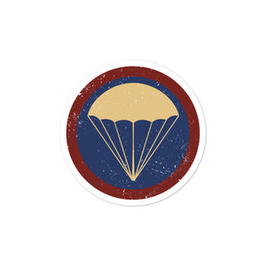 Parachute Infantry Sticker