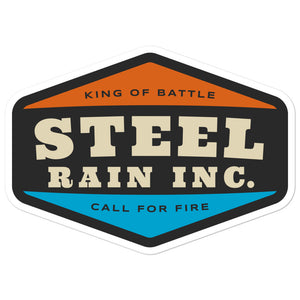 Steel Rain Sticker