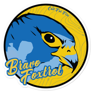 Bravo Foxtrot Sticker