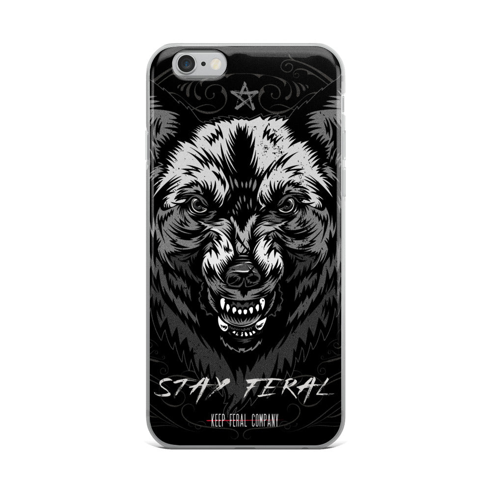Stay Feral iPhone Case