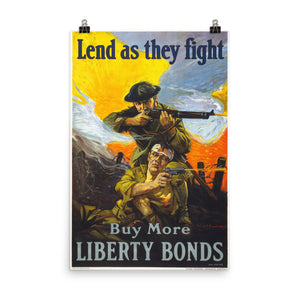 Lend As They Fight Poster