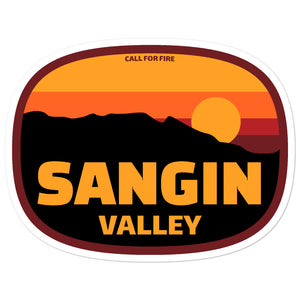 Sangin Valley Sticker